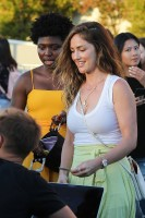 Minka Kelly - at the Harry Styles' Concert, Inglewood, CA, 7/14/2018