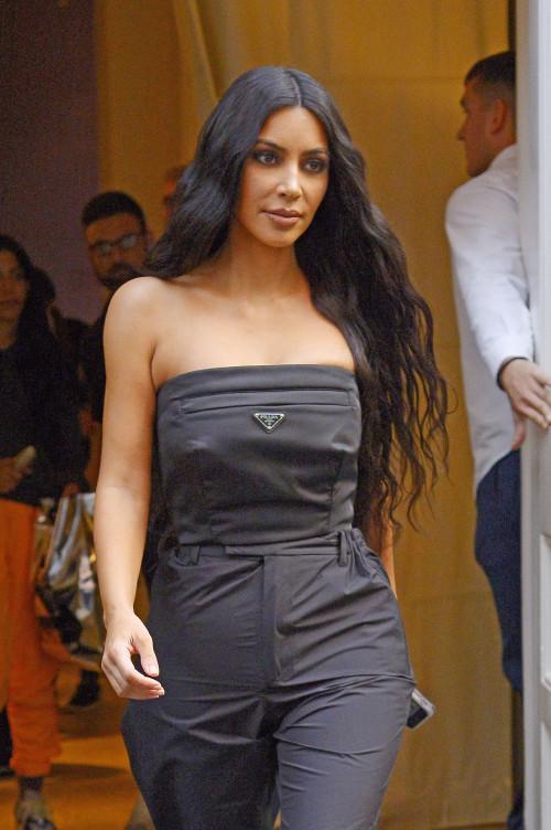 Kim Kardashian - Leaving her hotel in NYC, 9/30/2018